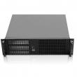 """Rack-mount 3U/19"""" kućište, max. ATX 12""""x9.6"""" MB format, ON/OFF + reset + 2 x USB 2.0 + 3 x 5.25"""" mesto napred za R34/R35 kit, 4 x Card Slot pozadi, 4 x 3.5"""" int. disk, mesto za standardni ATX PSU, dubina 390mm (NI-N338C)"""