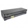 "KVM svič CKL-91AR  8 ports PS/2 + 8 cables 1.5m - bandwidth 200MHz, 1920x1440p, rackmount 19"", svič: remote control / push button"
