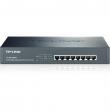 """TP-Link TL-SG1008PE PoE+ svič 8-port Gigabit 10/100/1000Mb/s 802.3af/at do 124W, desktop /19"""" rack, PoE Port Priority Function - Overload Arrangement, 802.3x flow control, auto-uplink every port, Eco energy-efficient"""