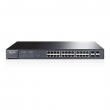 "TP-Link TL-SG2424P JetStream™ PoE+ upravljiv svič 24-port Gigabit 10/100/1000Mb/s 802.3at/af do 180W+ 4 x SFP Gigabit, 512 VLANs 802.1Q, SNMP, RMON, QoS 802.1p priority, ACL L2~L4, Link Aggregation, Rate limit, 19"" rack"