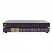 "KVM svič CKL-9116U 16 ports USB + 16 cables 1.8m - bandwidth 250MHz, 1920x1440p, rackmount 19"", svič: push button/hotkey/OSD"