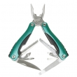 Alat višenamenski 9-u-1: klešta, testerica, nazubljeni nožić, otvarači za konzerve i flaše, odvijači (+,-), turpijica i nožić (MS-525)
