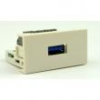 Uložak sa USB(A) 3.0 utičnicom - dim. 45x22.5mm (1M) NA2420USB3.0TL