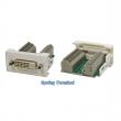 Uložak sa DVI-D utičnicom - dim. 45x22.5mm (1M) NA2420DVID24T