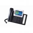 Grandstream-USA GXP-2160 Enterprise 6-line/6-SIP VoIP HD telefon, TFT color LCD 480x272 displej i 2 x Gigabit UTP porta, 24 BLF tastera, PoE