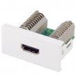 Uložak sa HDMI utičnicom - dim. 45x22.5mm (1M) NA2420HDMIT