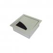 Kutija ugradna metalna stona sa poklopcem 80x80x28mm Legrand FR standard NA27201P za montažu modula 45x45mm (2M)