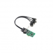 Moxa CP-104EL-A-DB9M 4-portni PCIe adapter, sa DB9(m) kablovima, RS-232, Low Profile