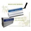 GSM/GPRS SMS modem 900/1800MHz, RS-232 kabl za vezu sa računarom, 1 slot za SIM karticu, SMA antena, aluminijumsko kućište 98x54x25mm, temp. opseg -20°C do +55°C  (WT-211)