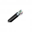 SFTP eksterni samonoseći kabl kat. 6 sa čeličnom žicom, Netiks - 'Wall', pun presek, metalna folija i širm oko parica, 100% bakar