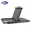 """KVM LCD svič 1-portni USB&PS/2 Combo 19""""/1U - polica rack-mount na izvlačenje sa LCD monitorom i tastaturom (KVM-1701)"""