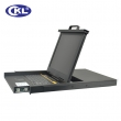 "KVM LCD svič 16-portni USB&PS/2 Combo 19""/1U (OSD) sa kablovima - polica rack-mount na izvlačenje sa LCD monitorom i tastaturom (KVM-1716)"