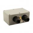 Prenaponska zaštita vodootporna za STP kat. 5E / 6 liniju (10/100/1000 Mbps) sa uzemljenjem - podržava PoE+ 802.3af/at, pražnjenje 20KA, UL497B Gas Discharge Tubes (GDT), brzo uključivanje <3ns (EM-330C6+)