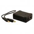PoE spliter 100/1000 Mbps, Passive PoE ulaz 38–56V DC, max. izlaz 10W sa podesivim naponom 5 / 7.5 / 9 / 12 V DC, sa DC kablićem, temp. -30°C~60°C (iPoES-10W12AG)