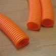 Rebrasta bužir creva savitljiva bezhalogena Kopos LPE-2 2332 (Ø32/24,3mm), čvrstoća 125N / 5cm, samogasiva (narandžasta)