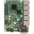 MikroTik RouterBoard RB850Gx2 - 5 x Gigabit 10/100/1000Mb/s LAN/WAN (PoE in 5-30V), VPN-BGP-MPLS ruter/firewall/bandwith manager/load balancer, PowerPC dual core CPU 500MHz, 512MB RAM, microSD slot, dim. 115x90mm, ROS L5