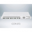 MikroTik CCR1072-1G-8S+ Extreme Performance Cloud Core Router 8 x SFP+10GbE + 1 x GbE RJ45 + 2 x USB port, CPU 72core x 1GHz /120+milion pps, 16GB ECC RAM, touchscreen LCD, 2 x hot swap power supply, VPN-BGP-MPLS, ROS L6