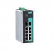 Moxa EDS-G308-2SFP-T 8-portni gigabitni industrijski svič, 6 x 10/100/1000 BaseT(X) + 2 x Combo Port (10/100/1000BaseT(X) ili 100/1000BaseSFP), -40 do 75°C