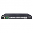 DCN L3-lite svič S5750E-28X-SI  24 x Gigabit (24xUTP) + 4 x 10GigaE (SFP+/SFP), IOS Enhanced Management & Security, IPv6 Dual Stack, Ring Protection G.8032, Energy Efficient Ethernet 802.3az, 6KV lightening protection