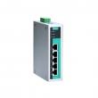 Moxa EDS-G205-T 5-portni gigabitni industrijski svič, 5 x 10/100/1000 BaseT(X),  -40 to 75°C