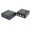 HDMI to AV converter CKL-HAV, input 1 x HDMI (1080p@60Hz), output Composite Video & Audio (L/R)