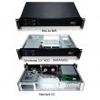 """Rack-mount 1.5U/19"""" kućište, Mini-ITX 17x17cm MB format, 2 x USB 2.0, 2 ventilatora 60mm, 2 hotswap mesta za 3.5"""" disk + 2 interna mesta za 2.5"""" disk, prihvata 1U napajanja do 400W, dubina 280mm (NI-N1528R)"""