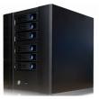 "Desktop kućište za NAS sa 6 x3.5"" Hotswap, 1 x USB 3.0 + 1 x ON/OFF prekidač,  Mini-ITX MB format, ventilator 12cm, prihvata 1U napajanja do 250W, dim. 245x220x265mm (N6)"