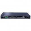 DCN L3-lite svič S5750E-52X-SI  48 x Gigabit (48xUTP) + 4 x 10GigaE (SFP+/SFP), IOS Enhanced Management & Security, IPv6 Dual Stack, Ring Protection G.8032, Energy Efficient Ethernet 802.3az, 6KV lightening protection