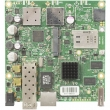 MikroTik RouterBoard RB922UAGS-5HPacD – Gigabit LAN/WAN (PoE 8-30V)+SFP, 2x2 MIMO 866Mb/s high power 1300mW wireless 866Mb/s 802.11ac 4.9-6.1GHz, USB, miniPCIe (SIM slot 3G/4G), CPU 720MHz, 128MB RAM, 105x105mm, ROS L5