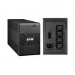 Eaton 5E 650i USB Line interactive UPS 650VA/360W sa AVR tehnologijom (Automatic Voltage Regulation), 4 x IEC C13 izlaz, USB port za komunikaciju, Internet/Tel/Fax prenaponska zaštita (5E650iUSB)