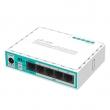 MikroTik RB750r2 hEX lite ruter sa 5 x LAN / WAN portova 10/100Mb/s, VPN ruter / firewall / bandwith manager / load balance, PoE in 6-30V, CPU 850MHz, 64MB RAM, temp. -20ºC÷70ºC, RouterOS L4