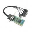 Moxa CP-114UL-DB9M 4-portna RS-232/422/485 low profile Universal PCI serijska kartica sa DB9(m) kablom