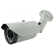"Kamera Anza Security AZ-B100V-HD bullet IP66 Megapixel 1/4"" HD 4-hibrid 720P AHD / CVI / TVI / CVBS 800TVL, 3MP vari-fokal 2.8-12mm, HV-ugao 15-59°, 42 IR LED do 35m, IR-CUT, OSD, AGC, DNR, ATW, AWB, BLC, temp. -20°/+50°"