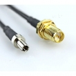 CRC9 na RP-SMA (ženski bulkhead) low loss antenski pigtail kabl (za 3G modeme)