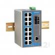 Moxa EDS-316-M-SC-T 16-portni industrijski svič 15 x 10/100 Mbps + 1 x 100BaseFX multi-mode (SC konektor), -40 to 75°C