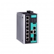 Moxa EDS-510E-3GTXSFP  10-portni upravljivi industrijski svič 7 x 10/100 Mb/s + 3 x combo Gigabit UTP/SFP