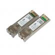 MikroTik S+2332LC10D komplet fiber optičkih SFP+ modula 10Gb/s (S+23LC10D + S+32LC10D) singlemode do 10km, 10GBASE-BX10, LC konektori