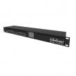 "MikroTik RB3011UiAS-RM ruter sa 11 LAN / WAN portova (10 x Gigabit + 1 SFP), USB 3.0 (storage / 3G / 4G), touchscreen LCD, VPN ruter/ firewall/ bandwith manager/ load balance, CPU 1.4GHz, 1GB RAM, PoE, 19"" rack, ROS L5"