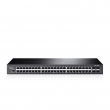 "TP-Link TL-SG3452 / T2600G-52TS JetStream™ L3-lite upravljiv svič 48-port Gigabit 10/100/1000Mb/s+ 4 x SFP Gigabit, Static Routing, IP-MAC-Port Binding, ACL, Port Security, L2/L3/L4 QoS, IPv6 support, 19"" rackmount"