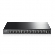 "TP-Link TL-SG2452P / T1600G-52PS JetStream™ upravljiv PoE+ svič 48-port Gigabit + 4 x SFP Gigabit, 802.3at/af-compliant PoE+ (384W), L2+ Feature - Static Routing, IP-MAC-Port Binding, ACL, Port Security, 19"" rackmount"