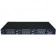 "Dinstar MTG2000  VoIP SIP Gateway 19""/1U modularna šasija sa 4 x E1 / PRI / SS7 (proširivo na 8/12/16/20 portova), Echo Cancellation, G.729A/B, FoIP i T.38 faks podrška, QoS, CNG, VAD, DJB, 2 x Gigabit RJ-45 (LAN i WAN)"
