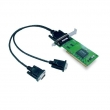 Moxa CP-102UL-DB9M 2-portni RS-232 PCI adapter, sa DB9(m) kablovima (Low Profile)