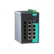 Moxa EDS-G509 9-portni upravljivi gigabitni industrijski svič, 4 x 10/100/1000 BaseT(X) + 5 x Combo Port (10/100/1000BaseT(X) ili 100/1000BaseSFP slot)
