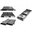 """Rack-mount 1U/19"""" kućište, Dual Mini-ITX 17x17cm MB format, 2 x USB 2.0, 8 ventilatora 40mm, 4 x interna mesta za 3.5"""" disk ili 8 x 2.5"""" disk, prihvata 1U napajanja do 250W, dubina 550mm (NI-M550)"""