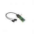 Moxa CP-112UL-DB9M 2-portna RS-232/422/485 low profile Universal PCI serijska kartica sa DB9(m) kablom