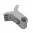 МikroTik quickMOUNT držač manjih antena za zid ili stub - kompatibilan sa SXT, Omnitik, BaseBox uređajima