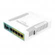 MikroTik RB960PGS hEX PoE 3G/4G-LTE & PoE svič–ruter 5 x LAN/WAN Gigabit port (4 x PoE 802.3at) + SFP + USB 2.0, VPN ruter/firewall/bandwith manager/load balance, PoE in 802.3at, CPU 800MHz, 128MB RAM, RouterOS L4