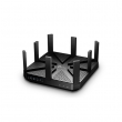 TP-Link Archer C5400 Gigabit Dual Band 5400Mb/s Router 802.11ac/a/b/g/n High Power Beamforming (2 x 2167Mb/s @5GHz & 1000Mb/s @2.4GHz), 2 x USB (File& Print), iOS & Android ap, IP QoS, WPS, 4 x 4 Stream MU-MIMO, 8 antena