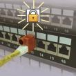 Blokator pristupa prespojnim kablovima sa bravicom NA5092SL