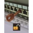 Ključ za blokator pristupa RJ-45 portu NA5090SK